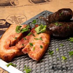 Mezostrati Tavern Bacon And Sausage