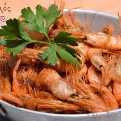 Aeyialos Seafood Restaurant Prawns